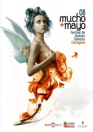Imagen del cartel de Mucho Más Mayo 2008